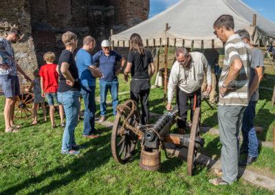 Compagnie van Brederode -  Archeologiedag bij Huis te Merwede (13 okt 2018)