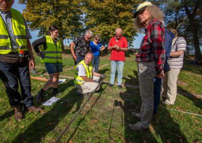 Archeologisch booronderzoek -  Archeologiedag bij Huis te Merwede (13 okt 2018)